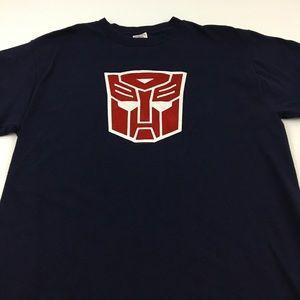 Vintage Autobots Transformers Tee T Shirt L